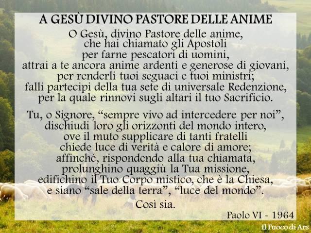 A Gesù Divino Pastore