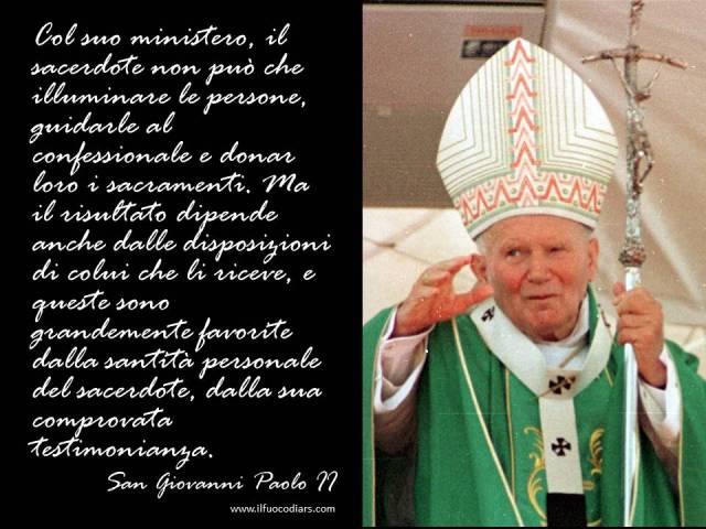 Giovanni Paolo II sacerdoti