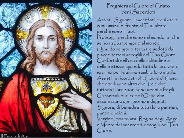Preghiera al Cuore di Cristo