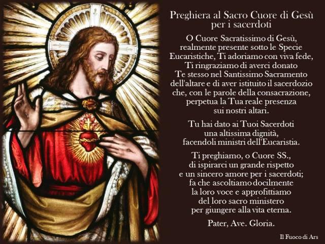 preghiera al sacro cuore per il clero e vocazioni 1